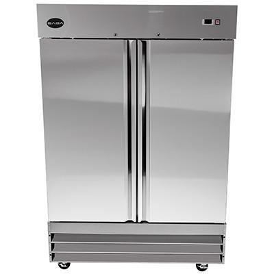 Saba Air - (2) Two Door S , S Freezer-SB-ST47F-71817-N - Maltese & Co New and Used  restaurant Equipment