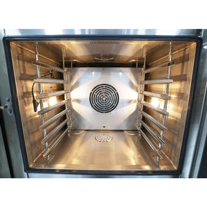 Venancio - Full Size 6 Trays Gas Combi Oven - Digital Controls, Recipes - WIFI - TCO6G