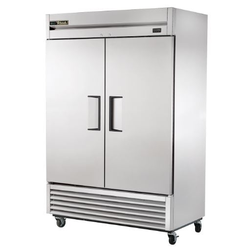 TRUE T-49F-HC 2 DOOR FREEZER STAINLESS STEEL - Maltese & Co New and Used  restaurant Equipment