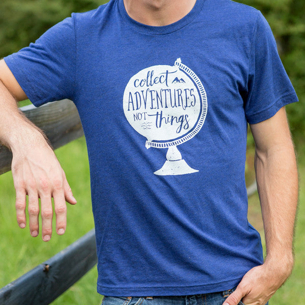 Collect Adventures Not Things / Unisex / Crew Neck