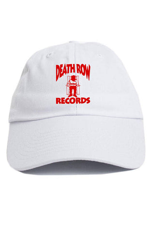 Death Row Records Custom Dad Hat Adjustable Baseball Cap New - White ... 9267b138001