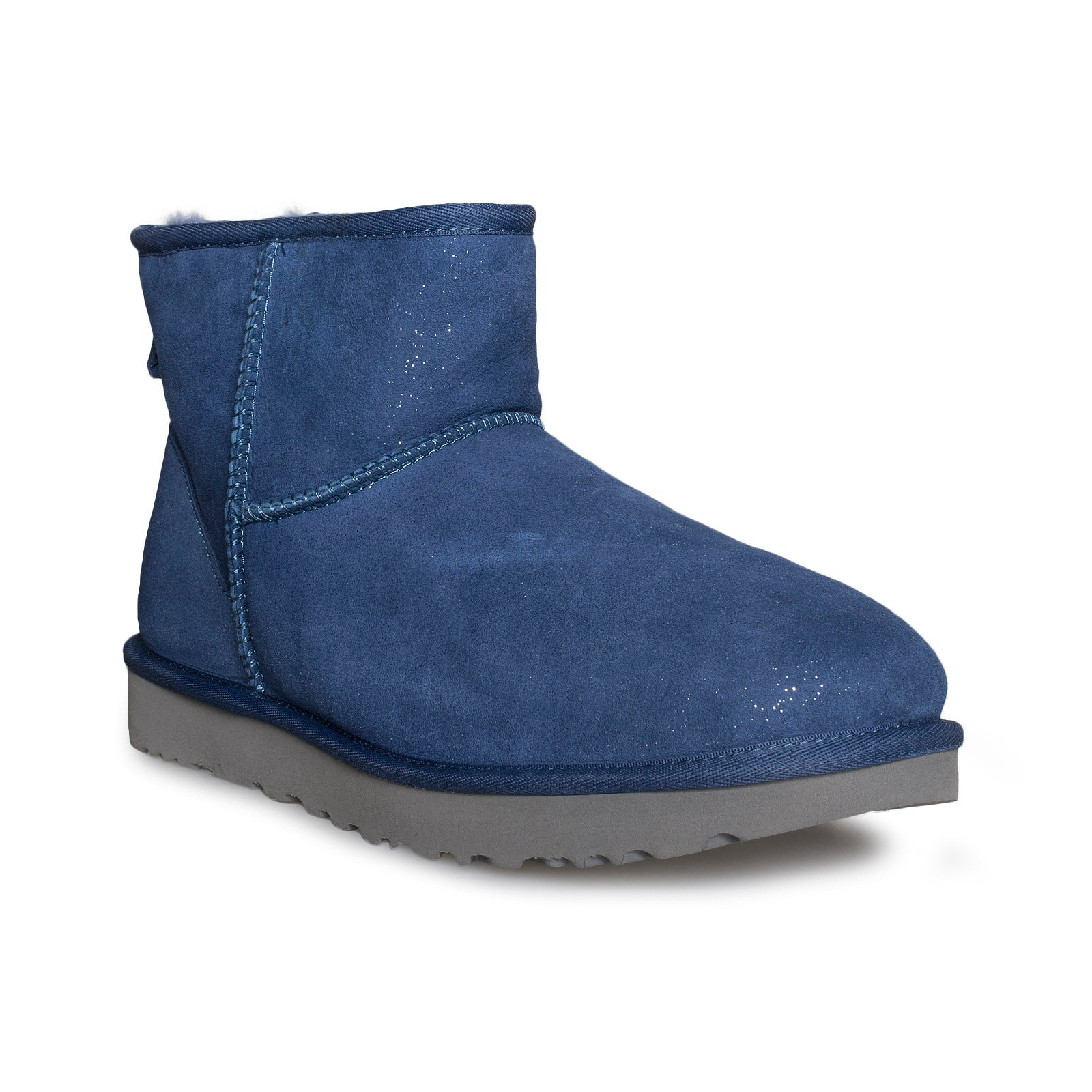 UGG Classic Mini Milky Way Dark Denim Boots Women's