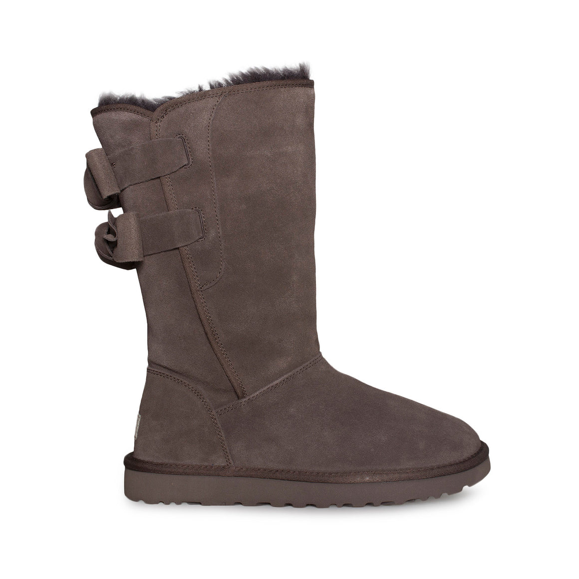 UGG Allegra Bow Chocolate Boots - Women's
