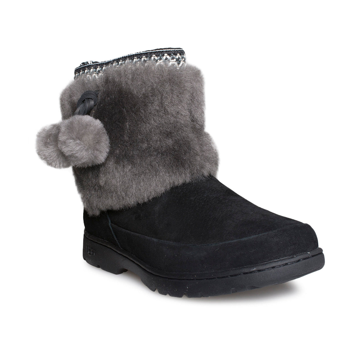 UGG Brie Black Boots - Women's