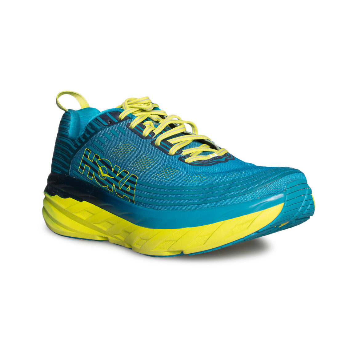 Hoka Bondi 6 Carribean Sea / Storm Blue Running Shoes - Men's