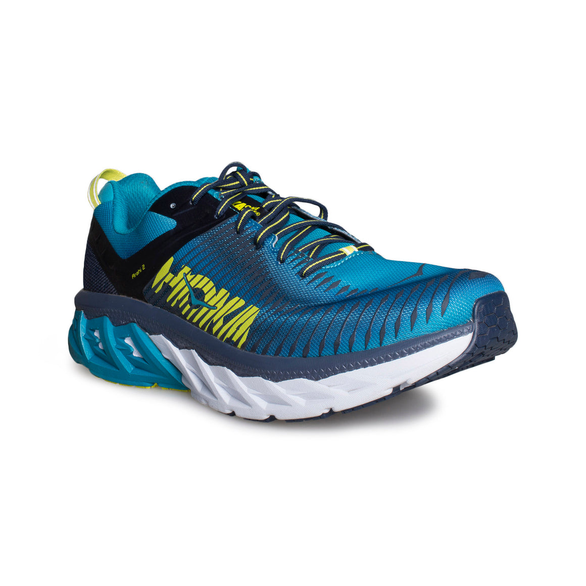 Hoka Arahi 2 Carribean Sea / Dress Blue Running Shoes - Men's