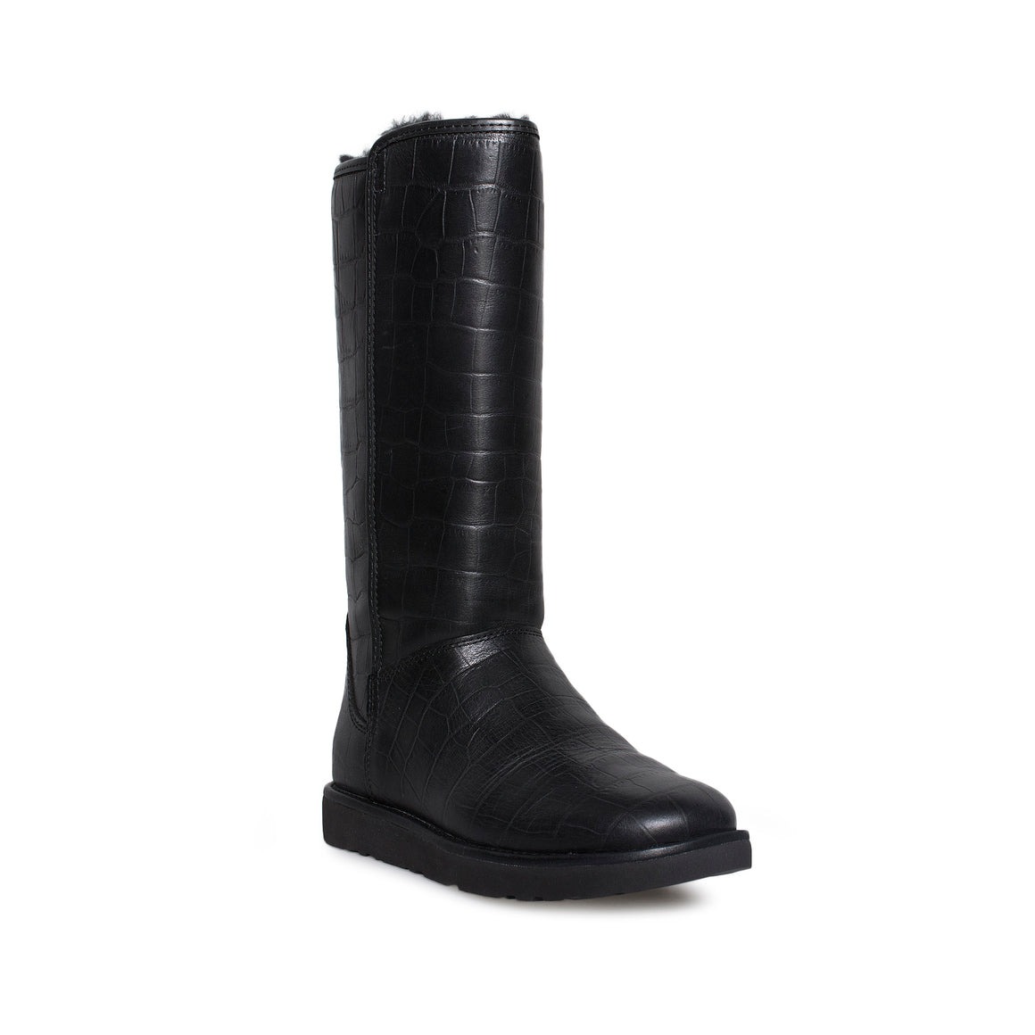 UGG Abree II Croco Black Boots
