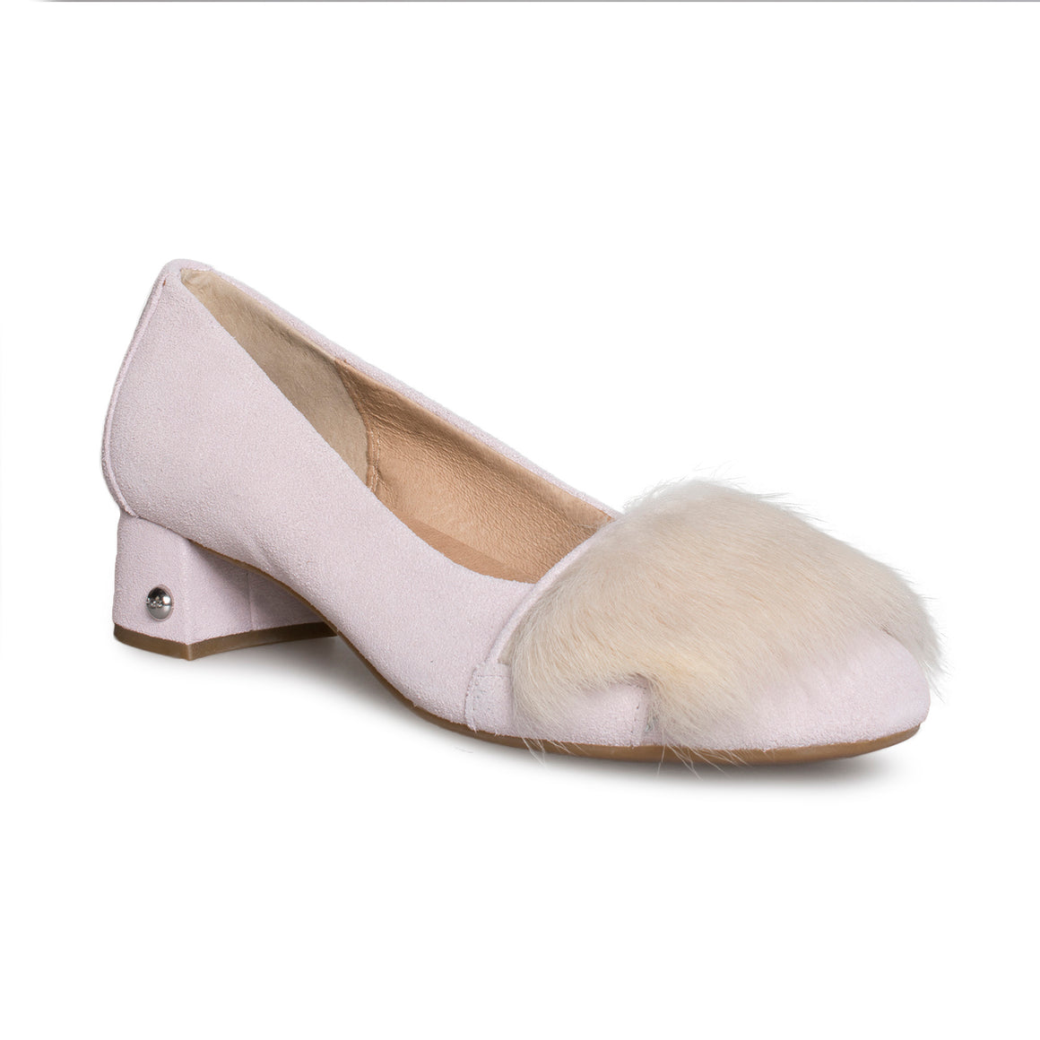 UGG Koa Fluff Heel Seashell Pink Shoes - Women's