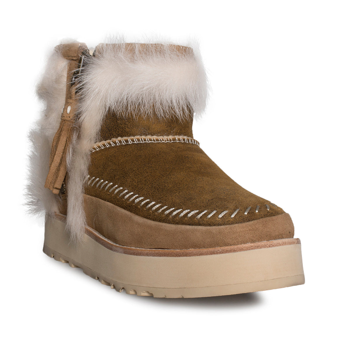 UGG Fluff Punk Boot Chestnut - Women's