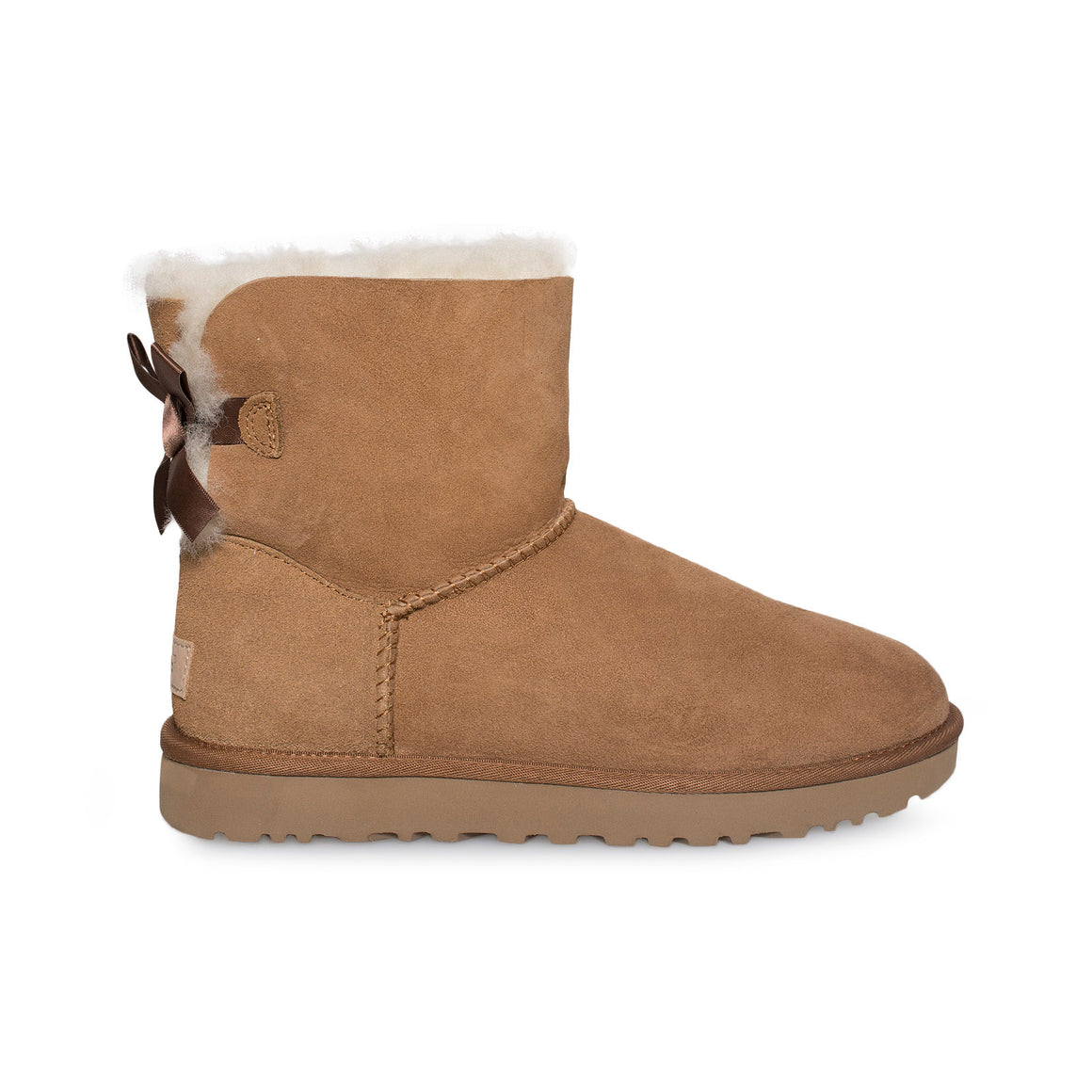 UGG Mini Bailey Bow II Chestnut Boots