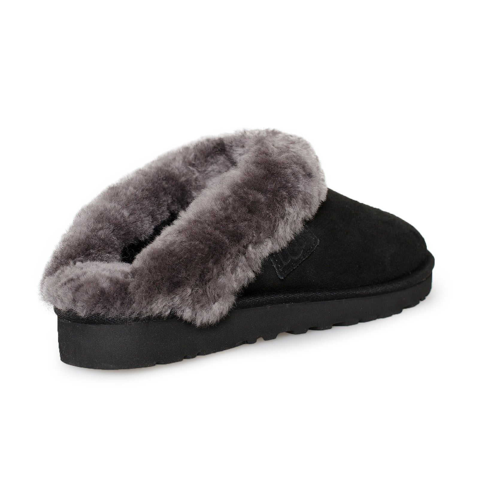 9646aa6f547 UGG Cluggette Black Slippers - Women's
