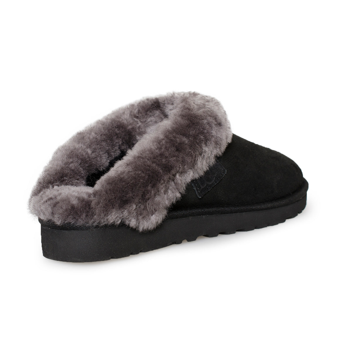 UGG Cluggette Black Slippers - Women's
