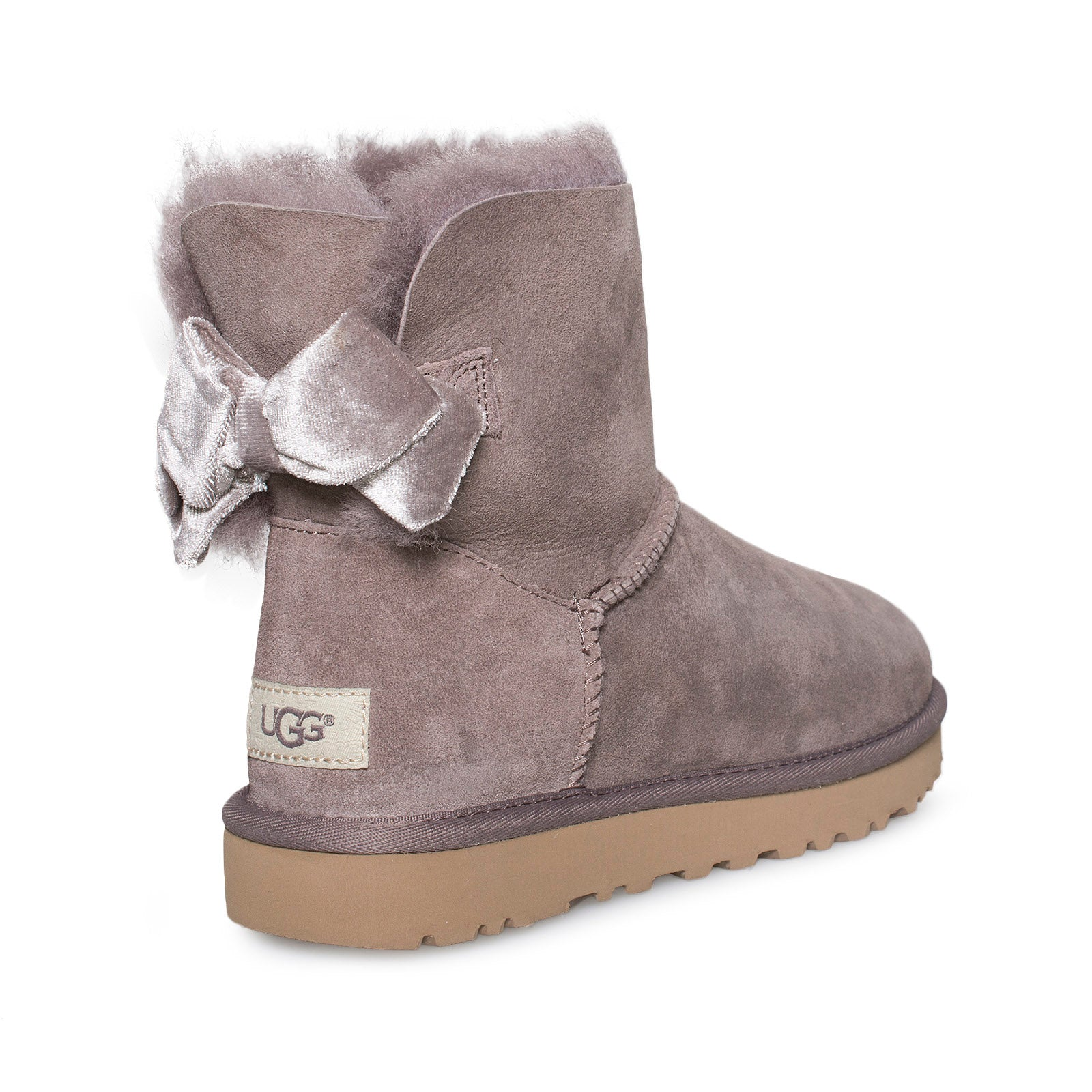 ugg mini stormy grey