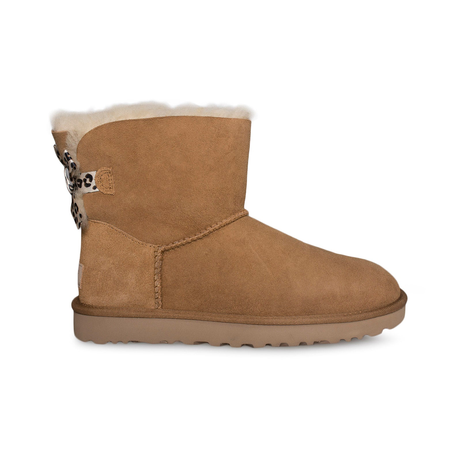 6cfcb333a2d UGG Mini Bailey Bow II Exotic Chestnut Boots - Women's