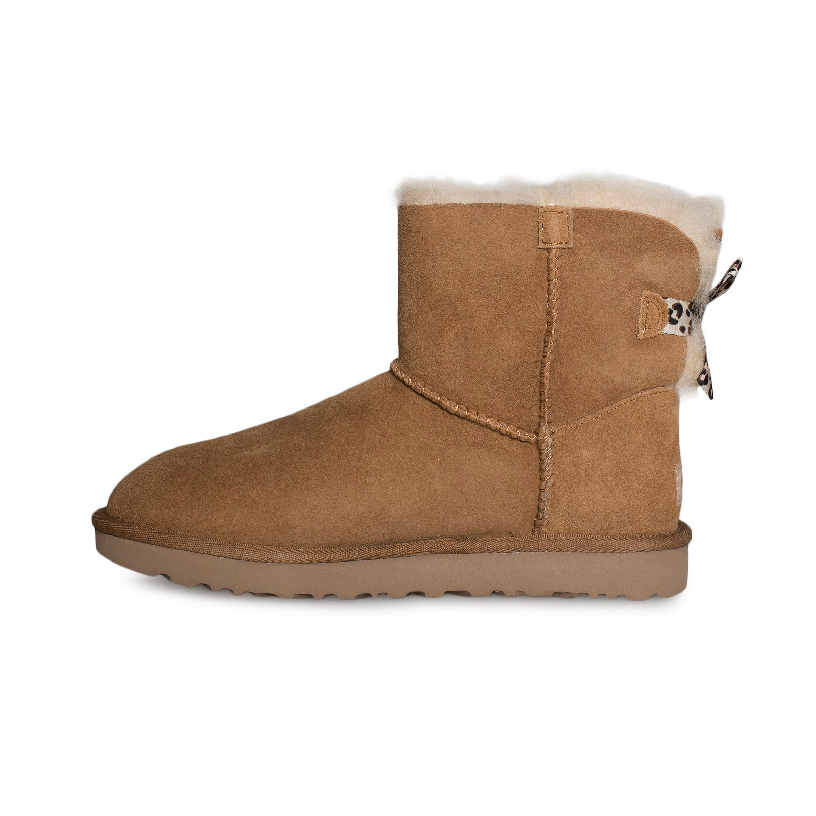 UGG Mini Bailey Bow II Exotic Chestnut Boots Women's