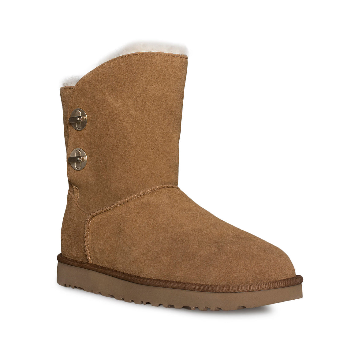 UGG Short Turnlock Chestnut Boots - Women's