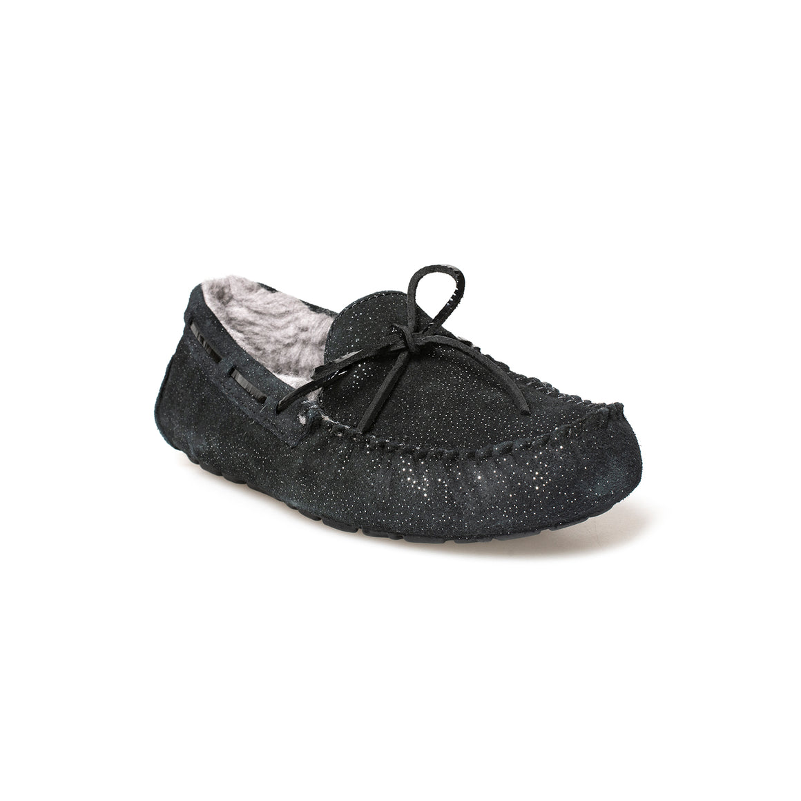 UGG Dakota Twinkle Black Slippers - Women's