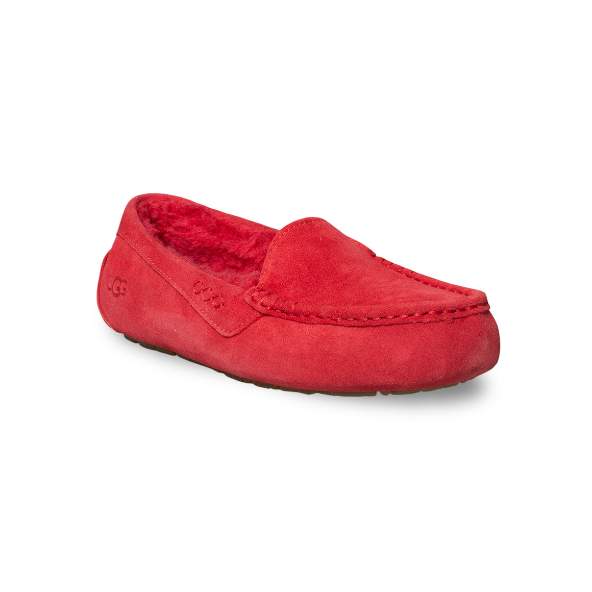 UGG Ansley Ribbon Red Slippers - Women's