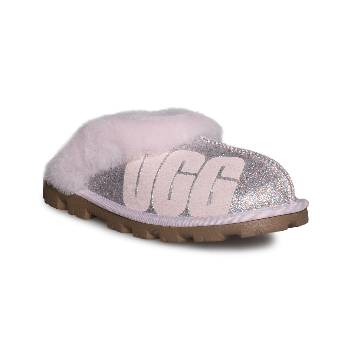 UGG Coquette Sparkle Seashell Pink Slippers - Women's