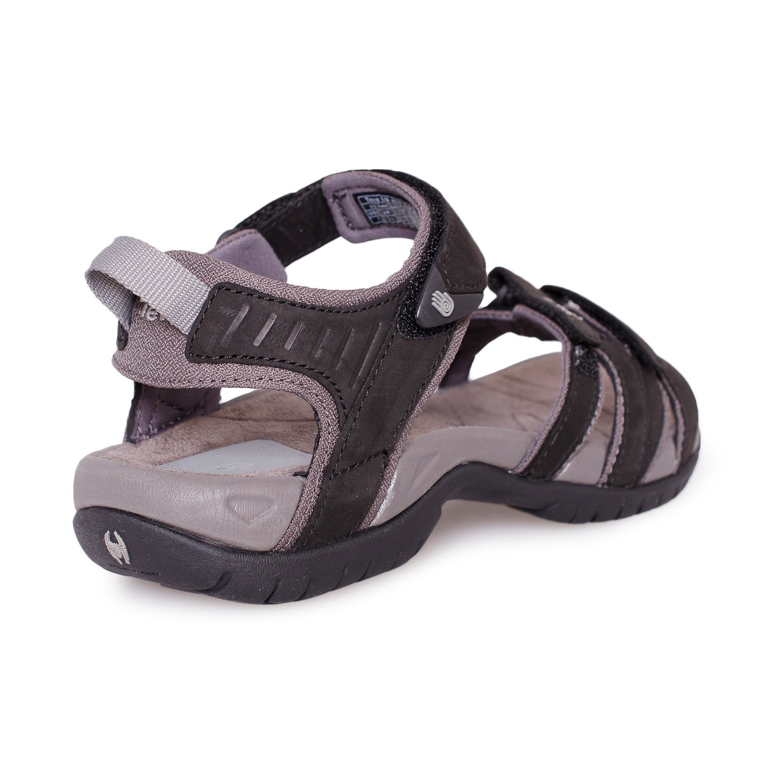 c1bf141c1cb47f Teva Tirra Leather Black Sandals - Women s - MyCozyBoots