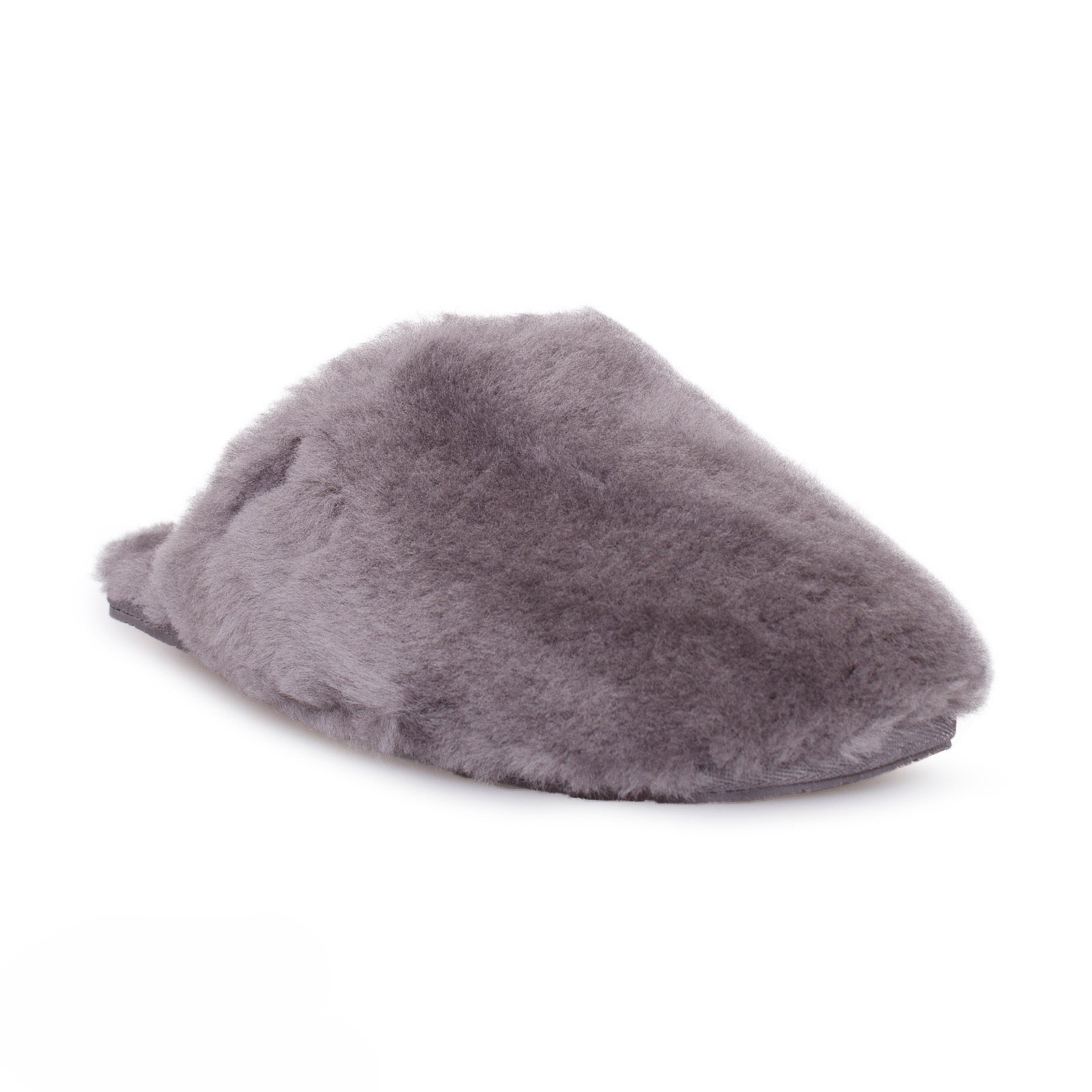 7c29eba1b3e UGG Fluff Clog Grey Slippers - Women's