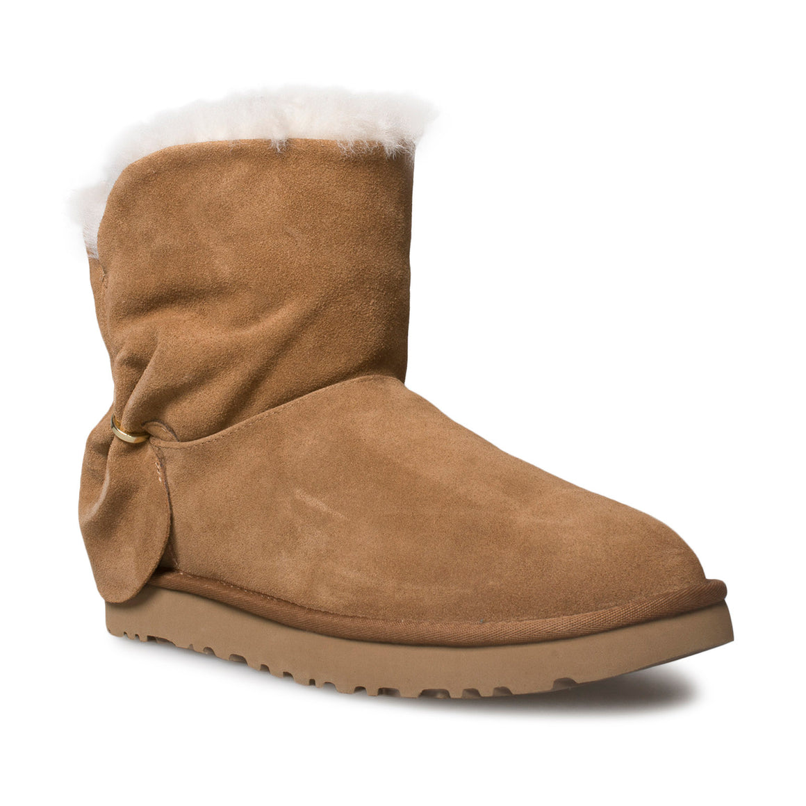 UGG Classic Mini Twist Chestnut Boots - Women's