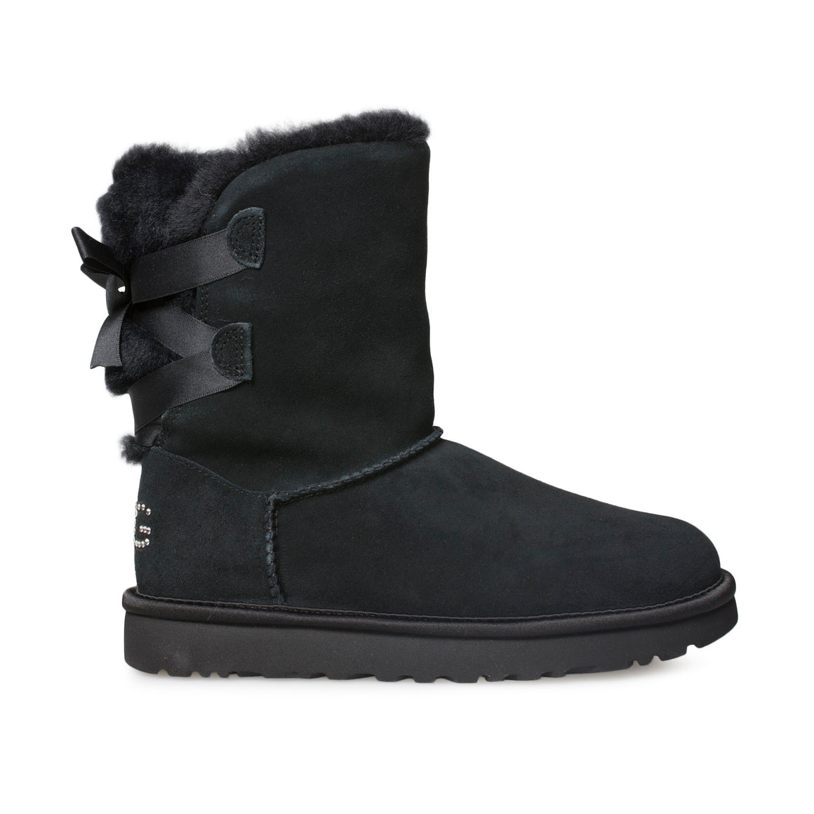 UGG Classic Bling Short Black Boots - Women's