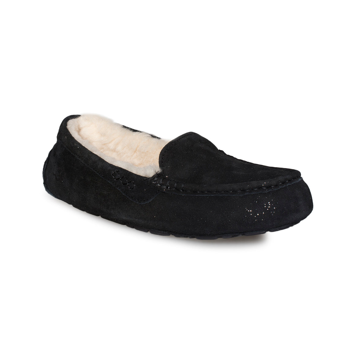 UGG Ansley Milky Way Black Slippers - Women's
