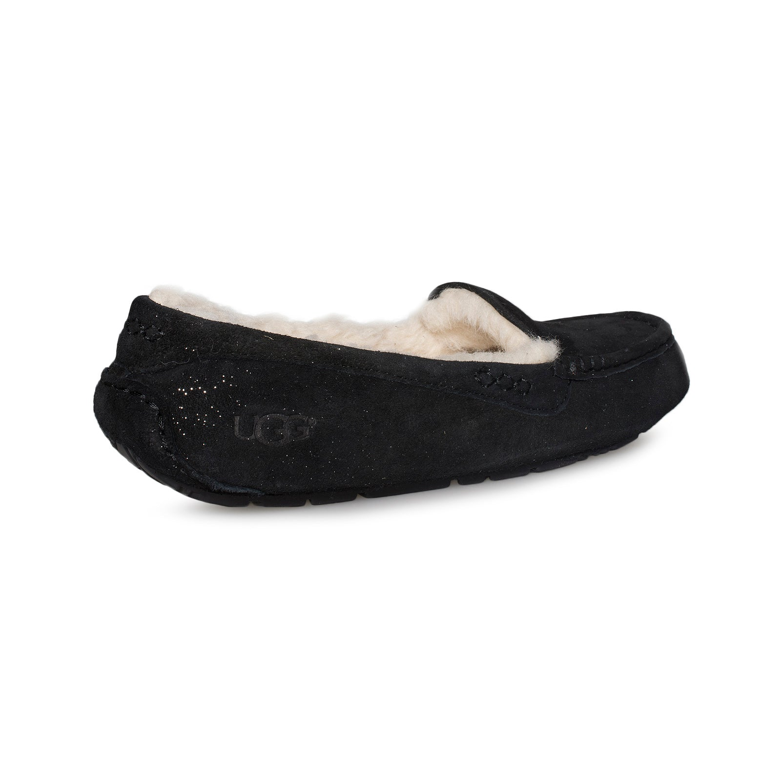 b95a0d9997d UGG Ansley Milky Way Black Slippers - Women's