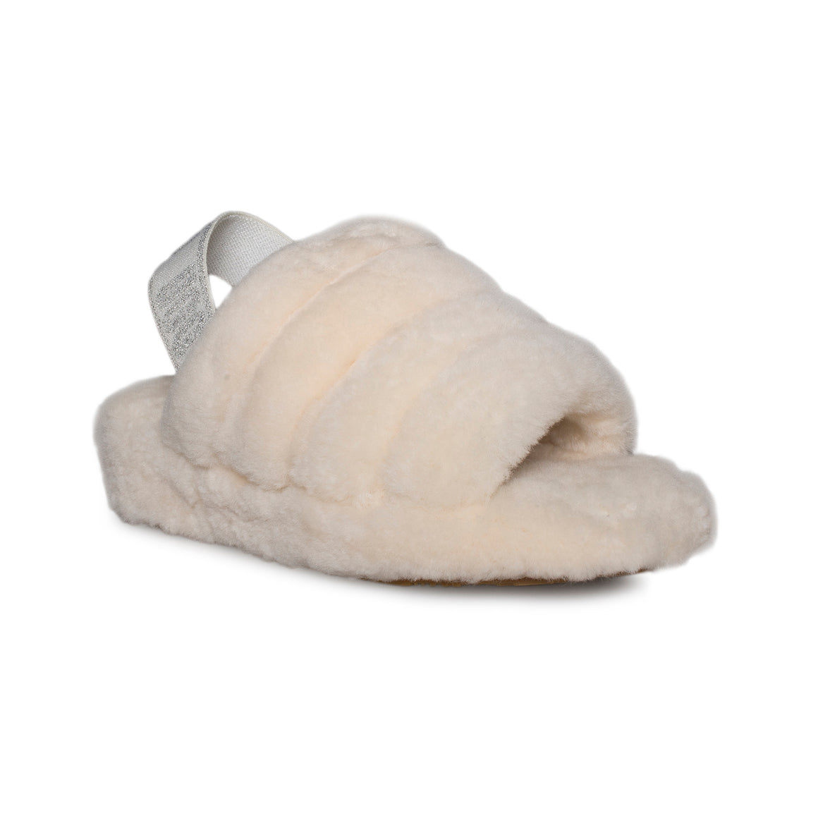 UGG Fluff Yeah Slide Cream Slippers - Women's