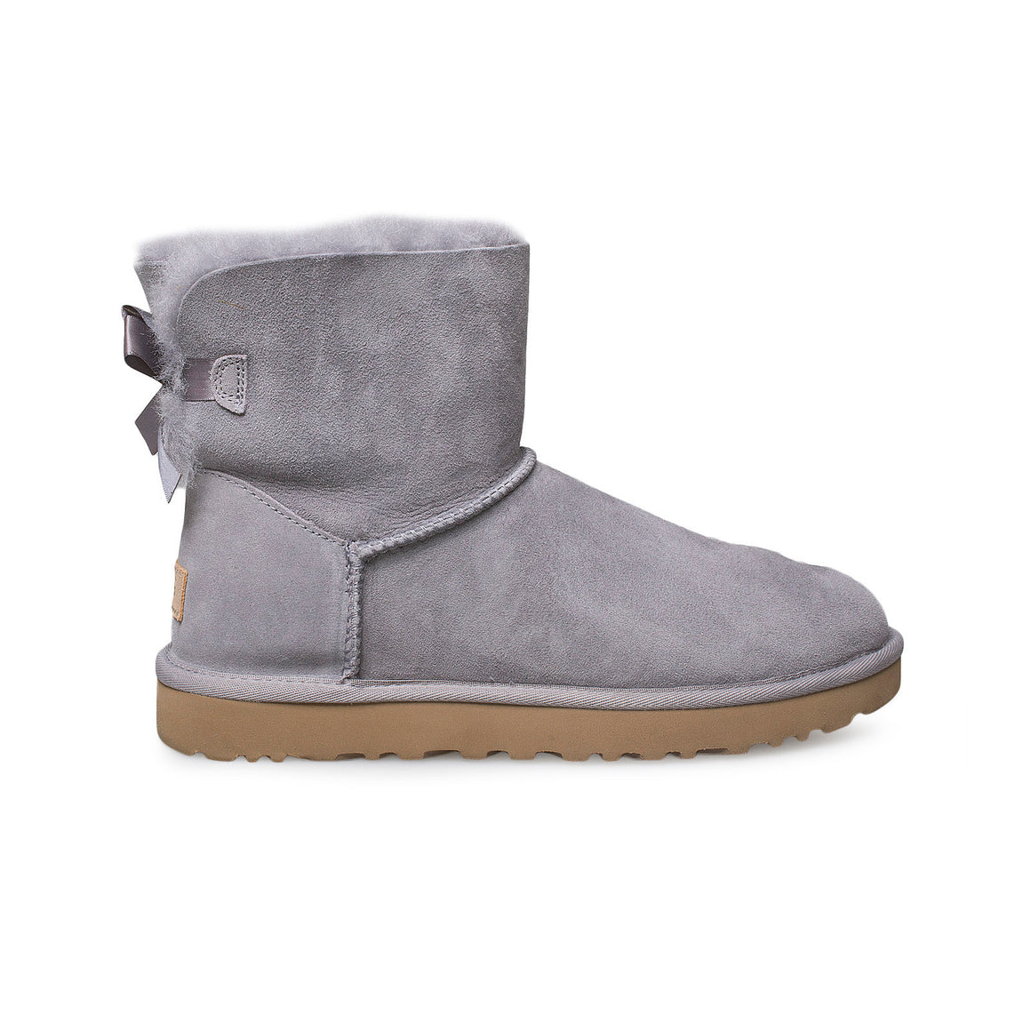 UGG Mini Bailey Bow II Soft Amethyst Boots - Women's