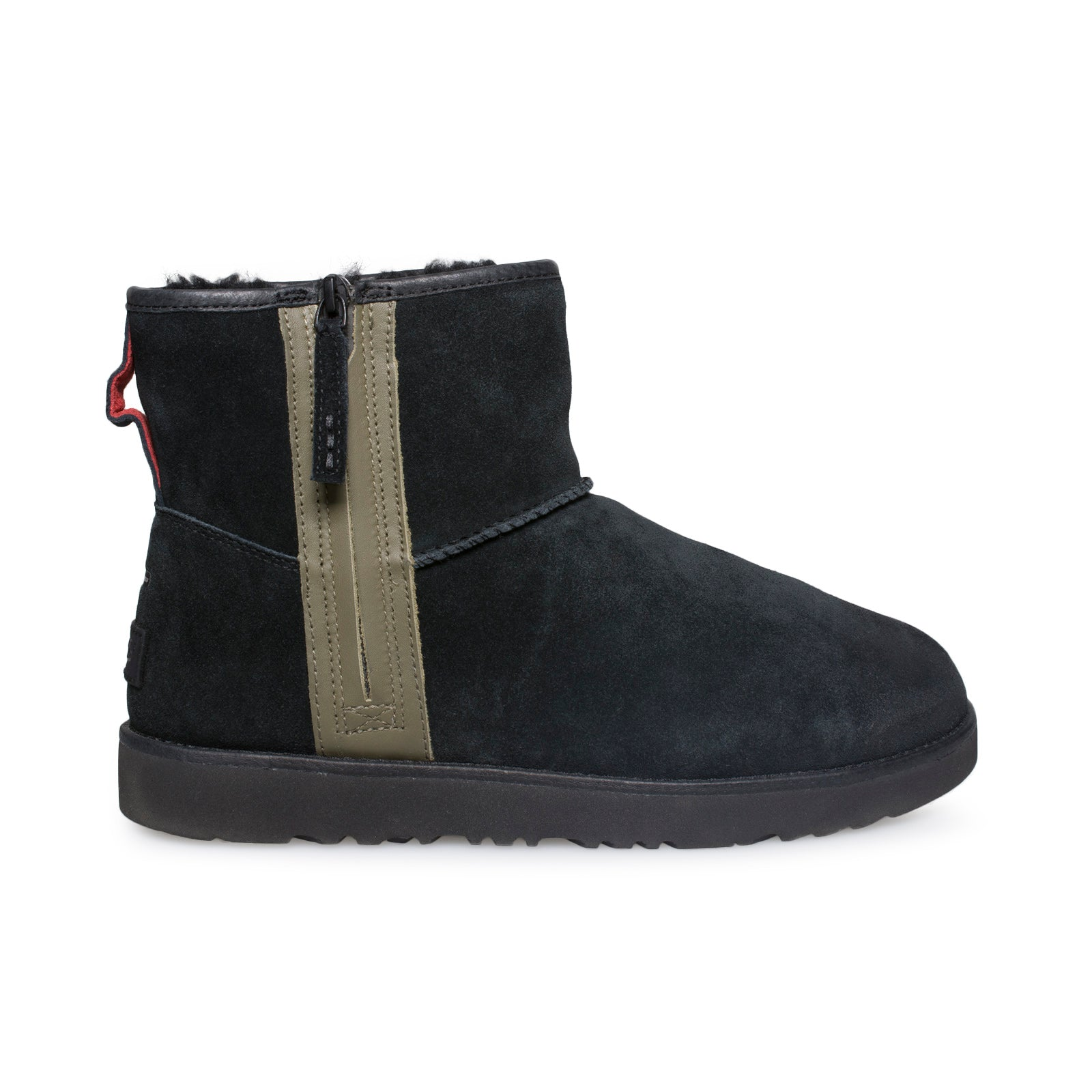 Ugg Classic Mini Zip Waterproof Black Boots Mycozyboots