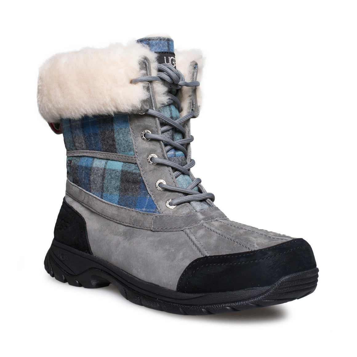UGG Butte Surf Plaid Boots