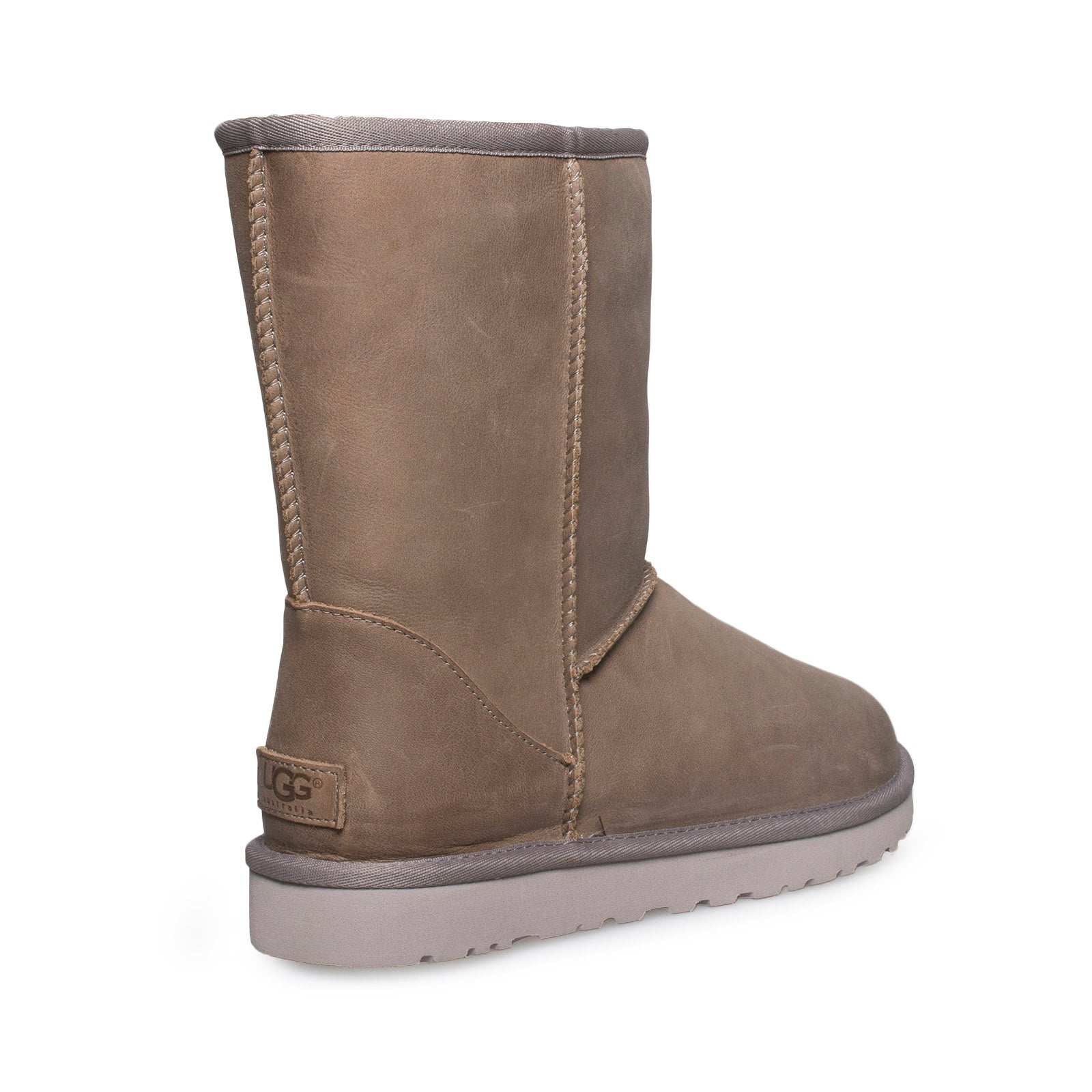 2a7de01b3c5 UGG Classic Short Leather Feather Boots