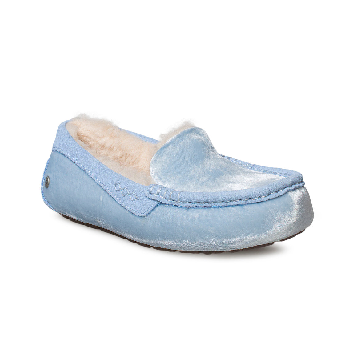 UGG Ansley Velvet Whisper Blue Slippers - Women's