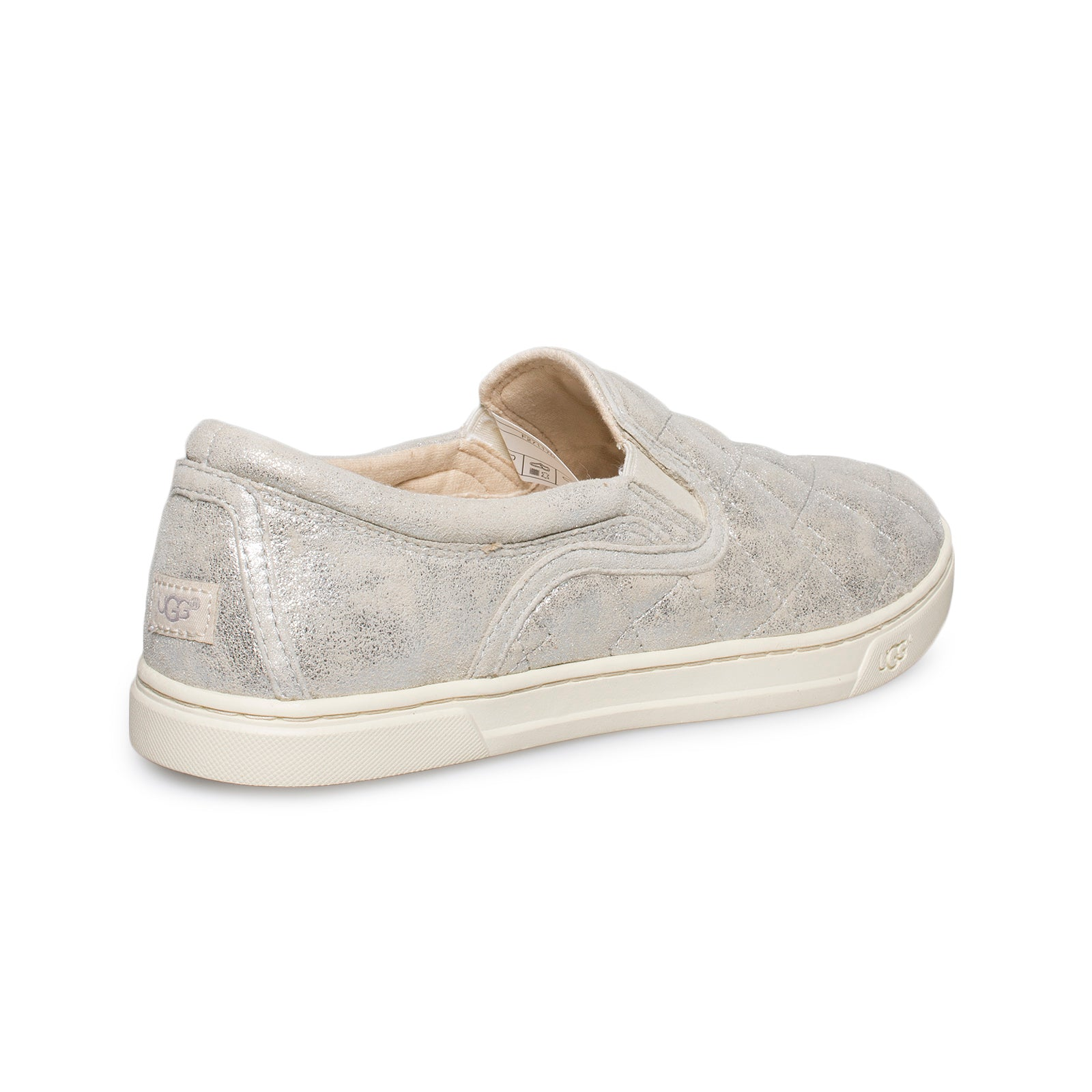 cacdfb5e280b7 UGG Fierce Deco Quilt Stardust Silver Shoes