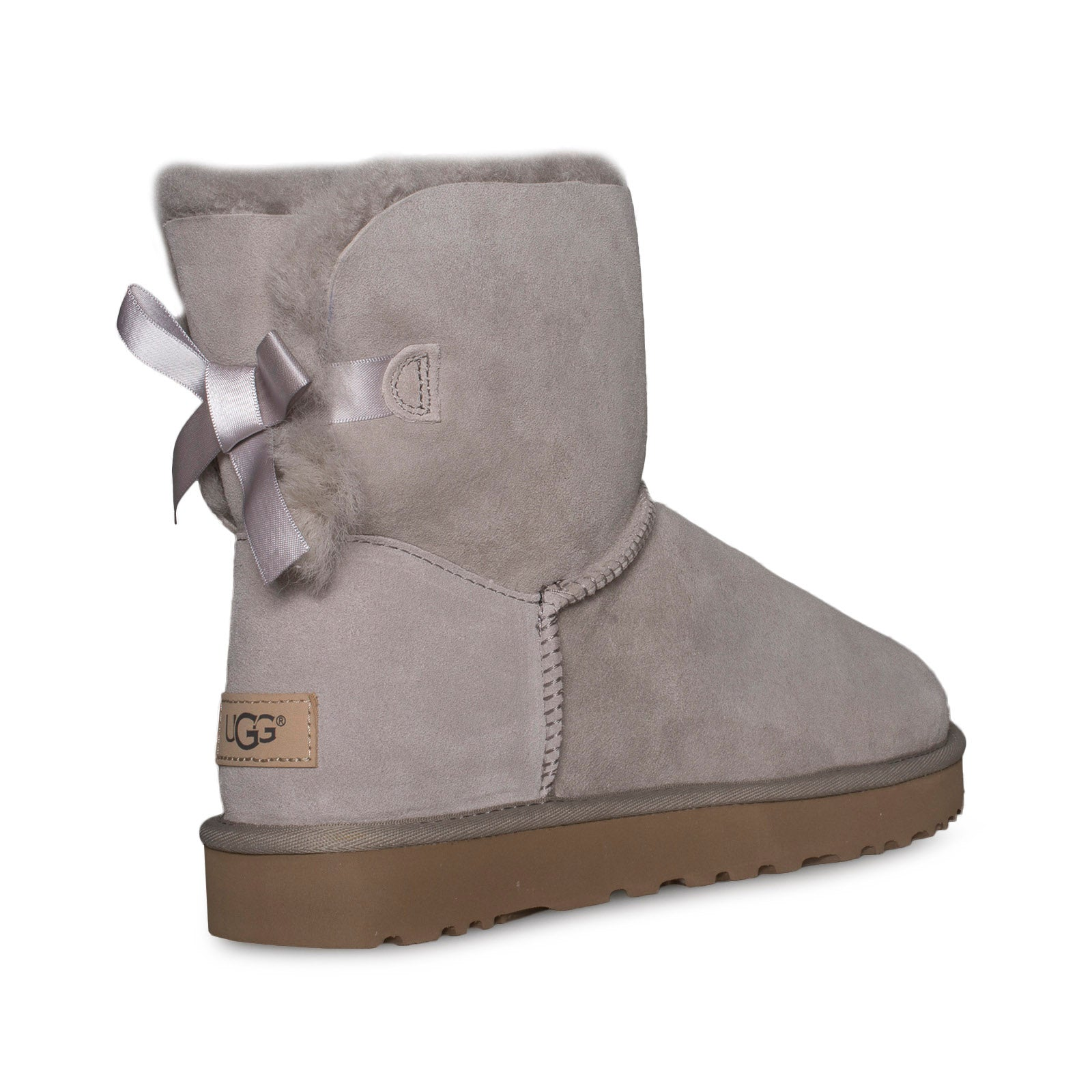 4c1a2b3726b UGG Mini Bailey Bow II Oyster Boots - Women's