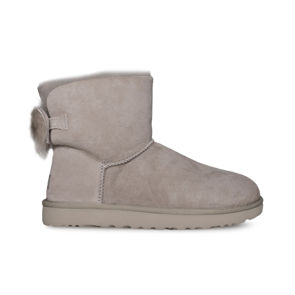 UGG Fluff Bow Mini Willow Boots - Women's