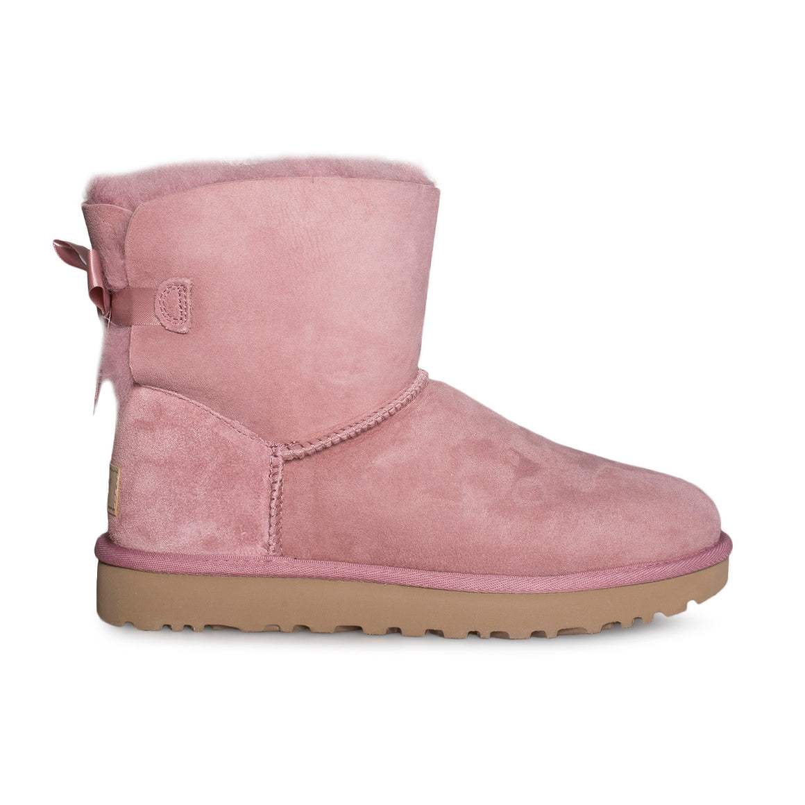 UGG Mini Bailey Bow II Pink Dawn Boots - Women's