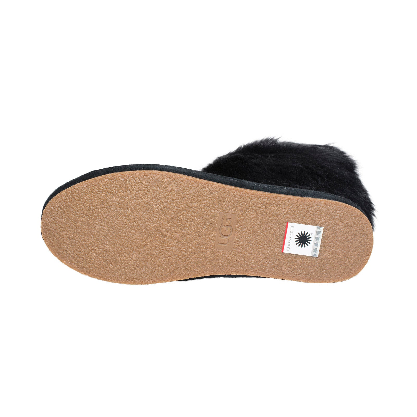 50e76a33982 UGG Antoine Fur Black Shoes