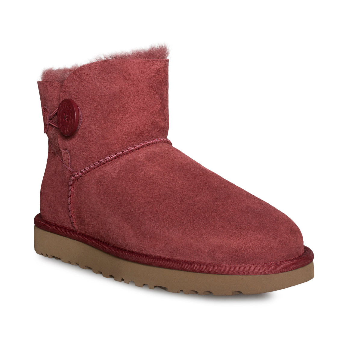 UGG Mini Bailey Button II Redwood Boots - Women's