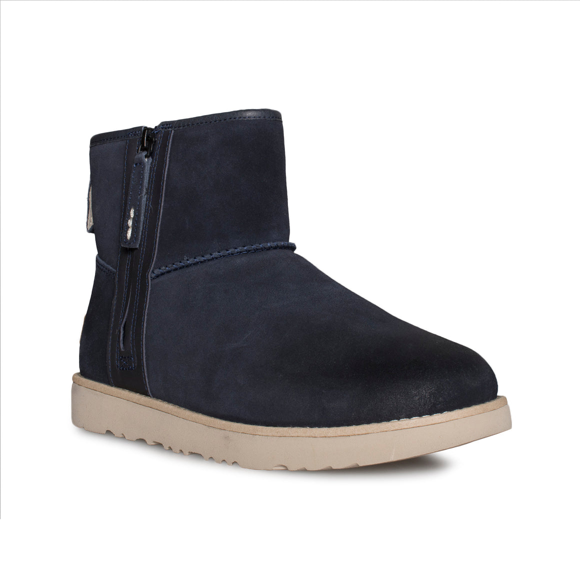 UGG Classic Mini Zip Waterproof True Navy Boots - Men's