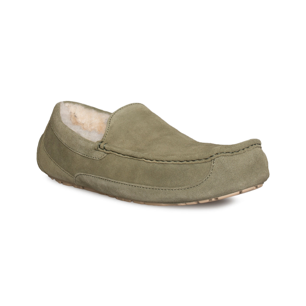 UGG Ascot Moss Green Slippers - Men's