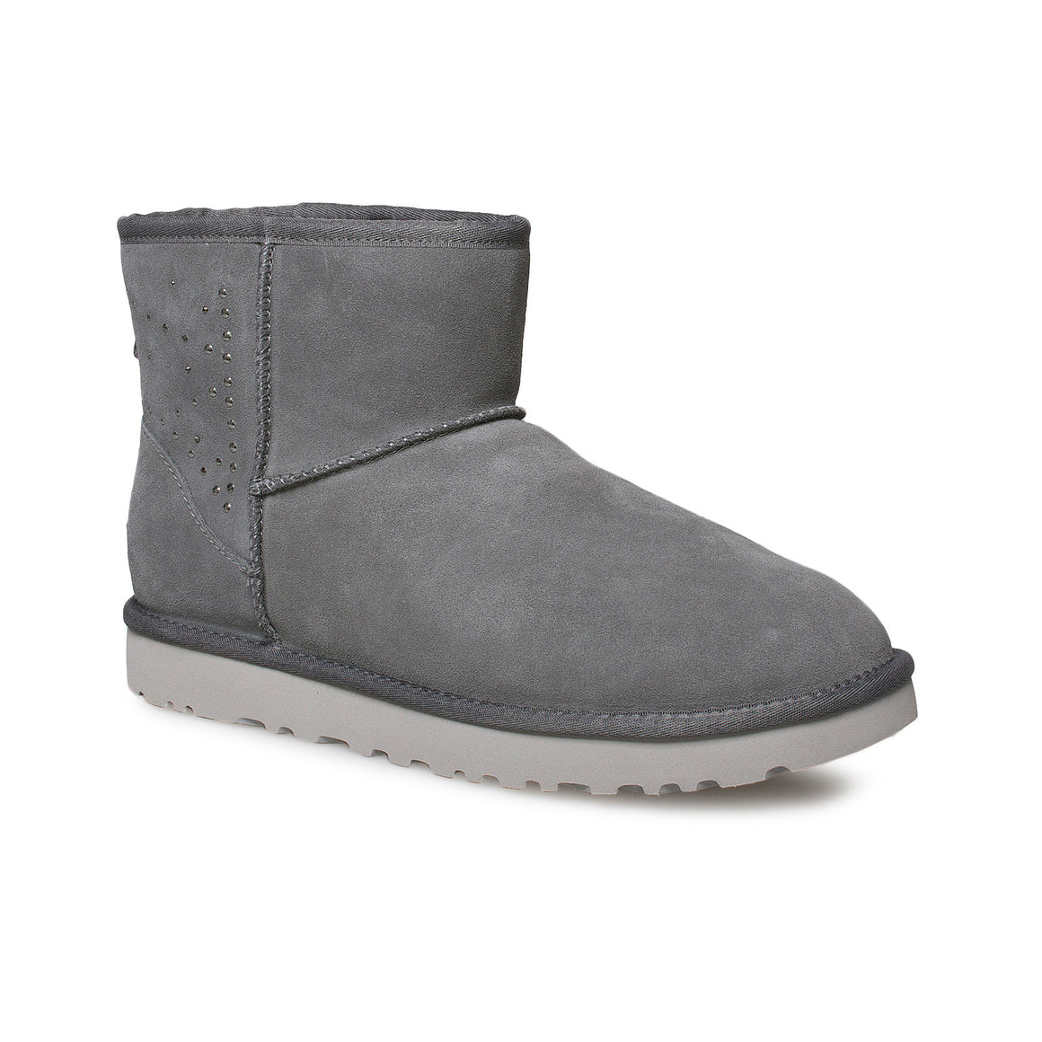 UGG Classic Mini II Studded Charcoal Boots - Women's
