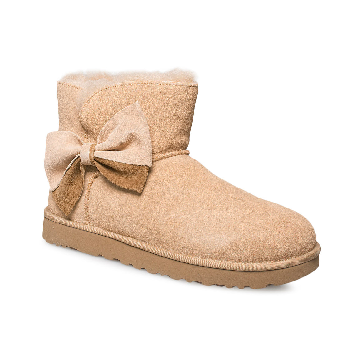 UGG Classic Mini Two Tone Bow Bronzer Boots - Women's