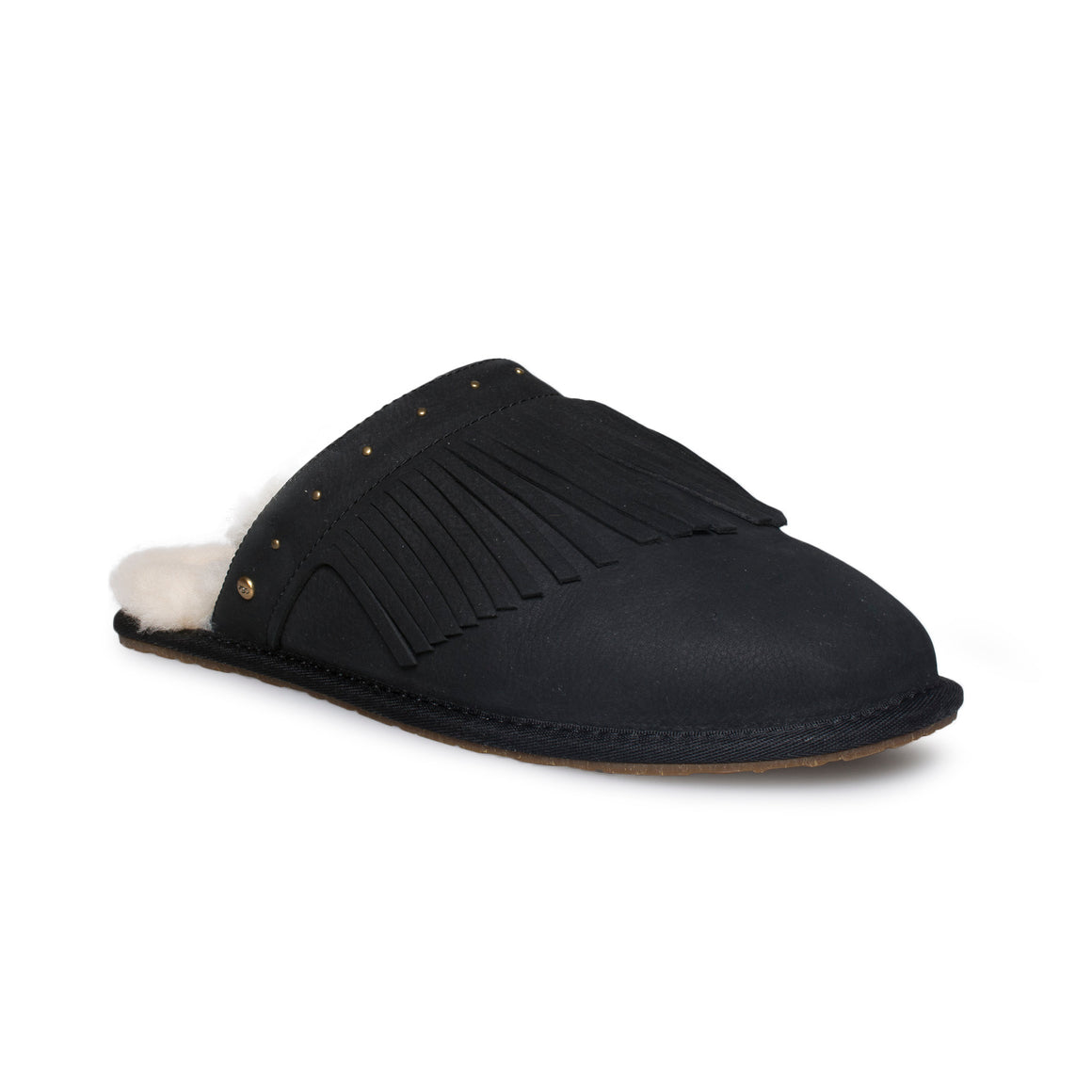 UGG Amarina Black Slippers