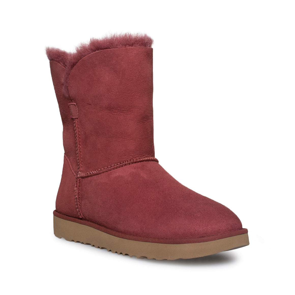 UGG Classic Cuff Short Red Clay Boots