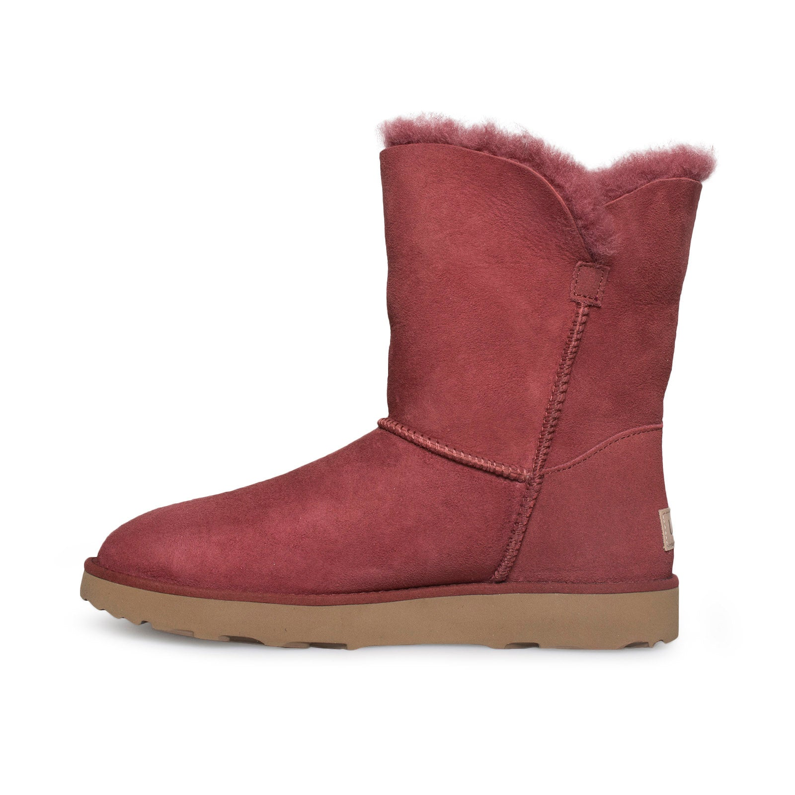 f86a46809d8 UGG Classic Cuff Short Red Clay Boots