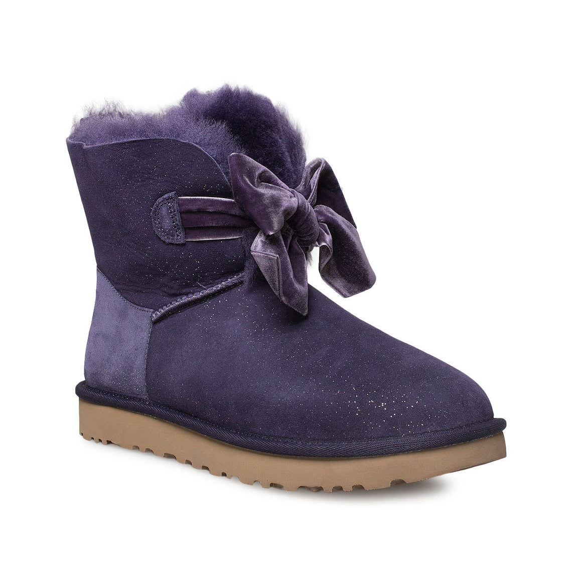 UGG Gita Twinkle Bow Mini Night Shade Boots - Women's
