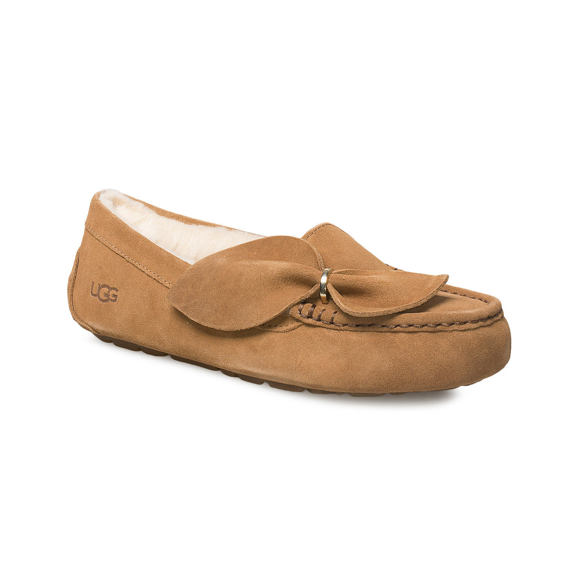 UGG Ansley Twist Chestnut Slippers - Women's